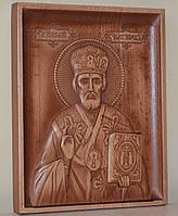 Церковная утварь-Икона Николай Чудотворец (160х200х18), фото 1