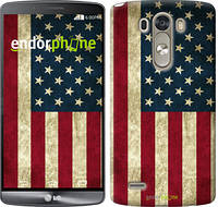 "Чехол на LG G3 D855 Флаг США ""395c-47"""