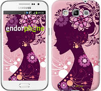 "Чехол на Samsung Galaxy Win i8552 Силуэт девушки ""2831c-51"""