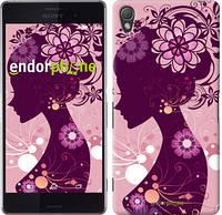 "Чехол на Sony Xperia Z3 dual D6633 Силуэт девушки ""2831c-59"""