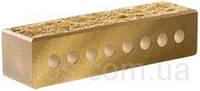 Облицовочный кирпич «Литос» узкий пустотелый «колотый»