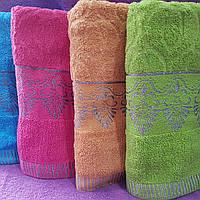 Турецкий узор Венгрия полотенца 8шт в упаковке  лицевое 90х50
