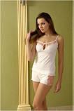 Пижама женская Shato 405/2 (домашний комплект, майка и шорты, одежда для дома), фото 2