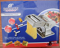 Лапшерезка+тестораскатка с насадкой для равиоли Bohmann BH-7778