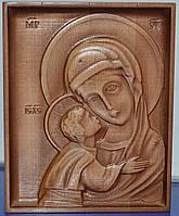 Резная икона Пресвятой Божьей Матери Игоревской (160х200х18), фото 1