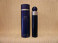 Perry Ellis - 360 Blue For Men (1996) - Туалетная вода 100 мл - Редкий аромат, снят с производства