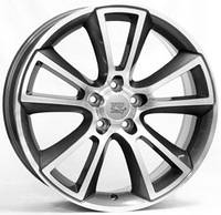 WSP-Italy W2504 Moon anthracite polished (R18 W8 PCD5x110 ET43 DIA65.1)