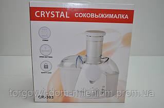 CRYSTAL электросоковыжималка 500 W CR-303