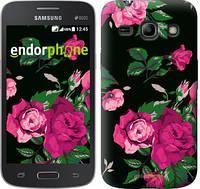 "Чехол на Samsung Galaxy Star Advance G350E Розы на черном фоне ""2239u-210"""