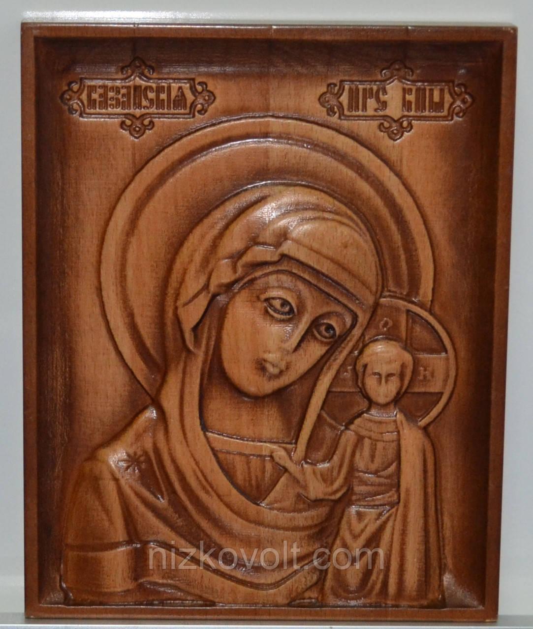 Ікона Казанської Божої Матері (160х200х18)