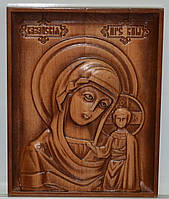 Икона Казанской Божьей Матери (160х200х18), фото 1