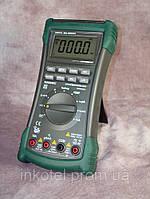 Цифровой мультиметр MASTECH MS8240C :DCV, ACV, DCA, ACA, R, C, F, t, тест диодов, скважность, прозвонка.
