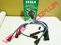Провода свечные Ваз 2101, 2102, 2103, 2104, 2105, 2106, 2107 Tesla (зеленые)