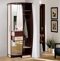 Угловой шкаф для прихожей Ева, мебель для прихожих готовая, 820х2075х745