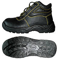 Ботинки кожаные с мягкой вставкой