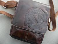 Мужская сумка бренд ALWAYS WILD натуральная кожа, фото 1