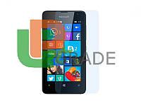 Защитная плёнка для Microsoft 430 Lumia Dual Sim (RM-1099), прозрачная