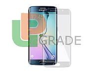 Защитная плёнка для Samsung G925F Galaxy S6 Edge, прозрачная, на весь дисплей, AntiShock