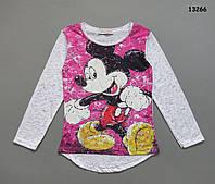 Кофта Mickey Mouse для девочки. 4-5; 5-6; 7-8; 9-10; 11-12 лет