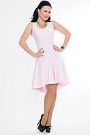 """Летнее платье нежно розового цвета """"Николь"""""""