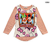 Кофта Minnie&Mickey Mouse для девочки. 4-5; 5-6; 7-8; 9-10; 11-12 лет