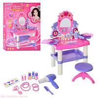 Трюмо детское, салон красоты со стульчиком 0395