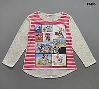 Кофта Disney для девочки. 4-5; 5-6; 7-8; 9-10; 11-12 лет