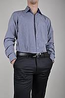 Рубашка мужская Slim fit Bazzolo SKY0614 Размер:46,48