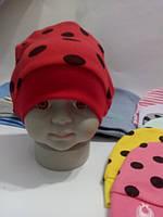 Шапочка трикотажная 0-3 мес., фото 1