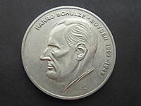 Настольная медаль ГДР Харро Шульце-Бойзен советский разведчик