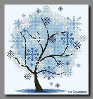 Схема Орхидея ОСЧ-57 Дерево. Зима