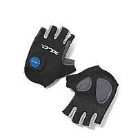 Перчатки XLC CG-S05 Columbia, черно-серые, S
