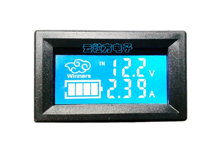 Вольтметр/Амперметр/Термометр с ЖК-дисплеем, 0-30V/0-100V, 10A NEW!