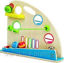 HAPE Развивающая игрушка Перегоны  (Е0430)