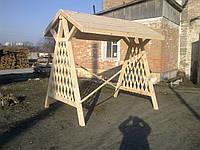 Качель деревянная садовая, фото 1