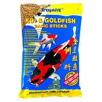 Tropical Koi & Gold Basic Sticks корм для прудовых рыб в палочках, 10 л