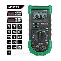 Мультиметр Mastech MS8229 Voltage AC\DC Gurrent AC\DC, 5 в 1 цифровой мультиметр