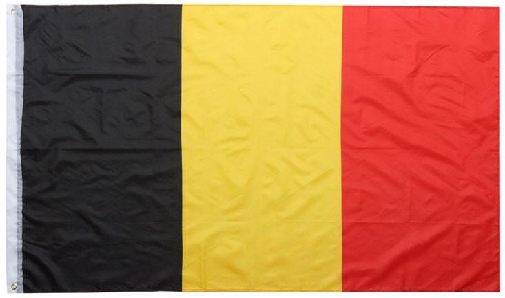 Национальный флаг Бельгии 90х150см