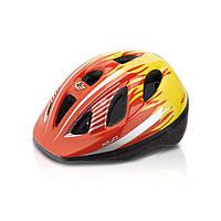 Шлем детский Xlc BH-C16, красно-желтый, XS/S 49-54