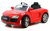 Детский электромобиль Audi R8 SPYDER с пультом управления 123см.