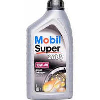 Масло Mobil Super 2000 10w40 1л