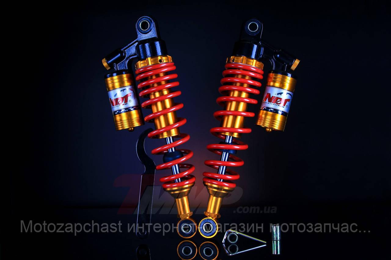 Амортизаторы двойные с подкачкой верх Ø12 mm низ Ø10 mm