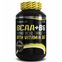 BioTech BCAA+B6 340 таб.