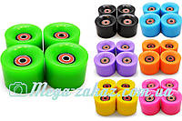 Колеса для пенни борда (колеса для пенни/penny board): PU, 7 цветов