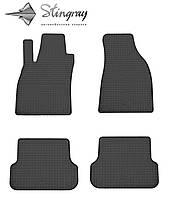 Комплект резиновых ковриков Stingray для автомобиля Audi A4 (B7) 2004-    ,4шт.