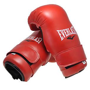 Перчатки Everlast KungFu,ММА,Тхеквондо,DX,Flex красные EVDX355-SR, фото 2