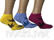 """Шкарпетки підліткові жіночі """"коноплі"""""""