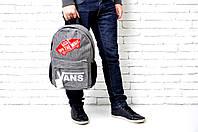 Рюкзак Vans Off The Wall 114727 15 л спортивный школьный один отдел карман спереди 26см х 40см х 17см, фото 1