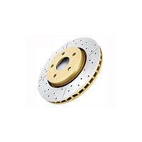 Тормозные диски DBA перфорация с насечкой HUMMER H2 передние