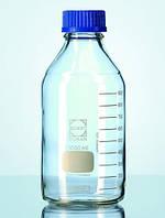 Бутылки лабораторные, стекло DURAN®, с винтовой крышкой и идентификационным кодом Объем 2000 мл Внешнийдиаметр 136 мм Высота* 265 Резьба 45 GL